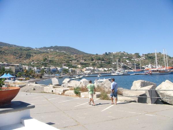 Lipari~port 禮帕利島~港口