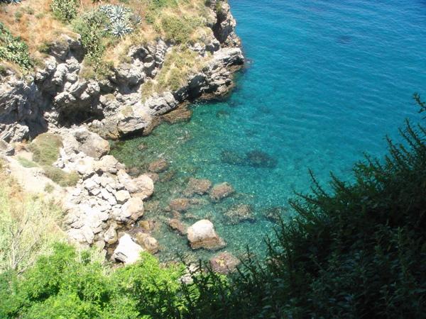 Lipari禮帕利島~blue blue 湛藍的海水