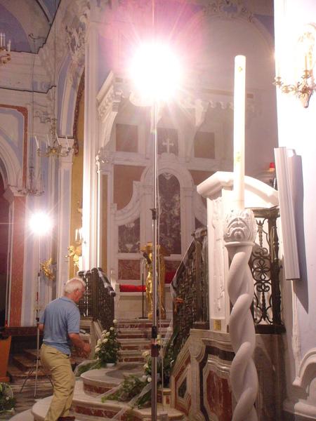 Lipari禮帕利島~wedding church 婚禮教堂