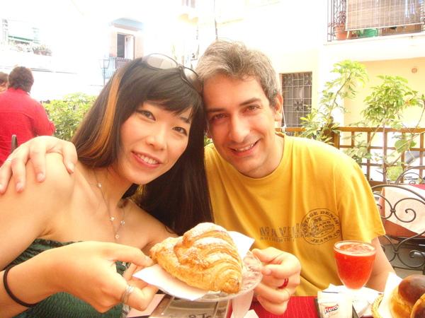 Lipari禮帕利島~super breakfast 超級早餐