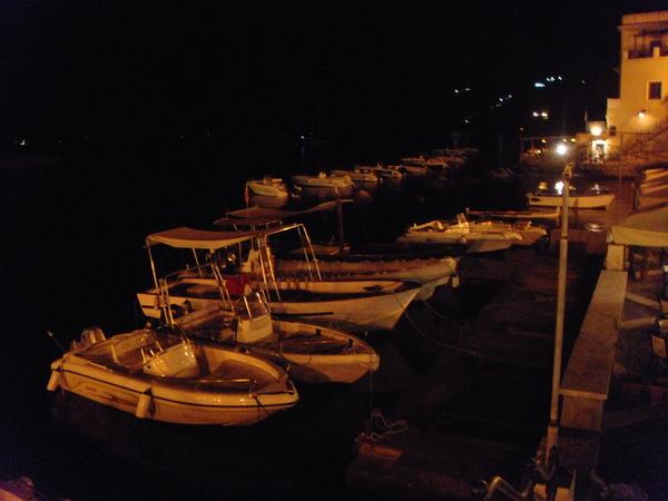 Lipari night life 禮帕利島夜生活
