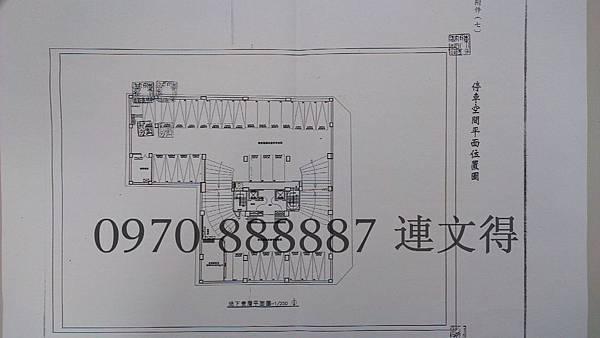 台中-雙橡園-櫻ONE特區-雙橡園建設-櫻ONE-車位平面圖