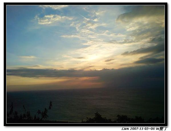 關山日落1