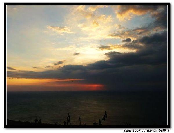 關山日落9