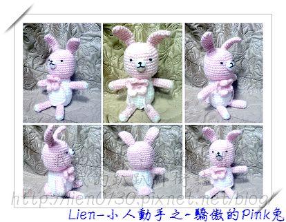 驕傲的Pink兔
