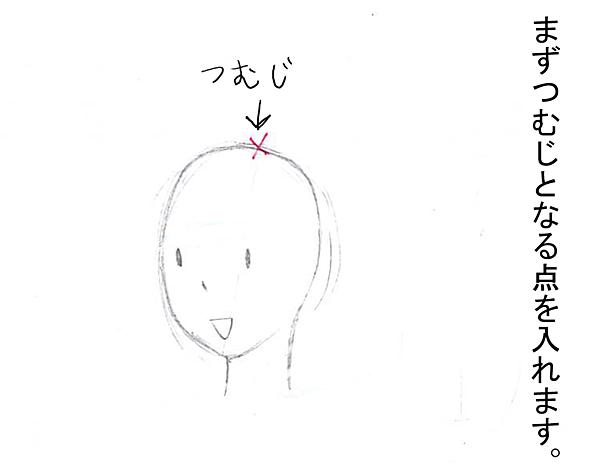 簡単髪の毛講座01