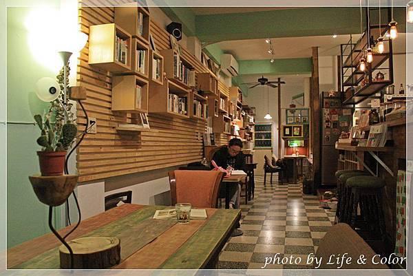 羅東好森咖啡x註書店