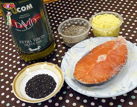 香煎起士鮭魚 (2)