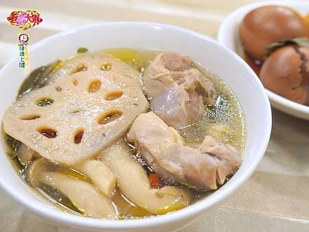 烏龍蓮藕蓮子雞湯 (1)