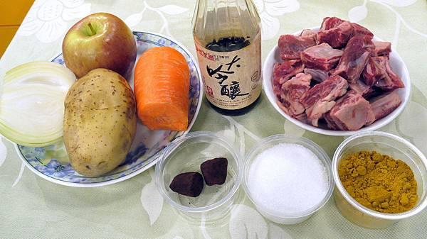 咖哩牛肉 (1)