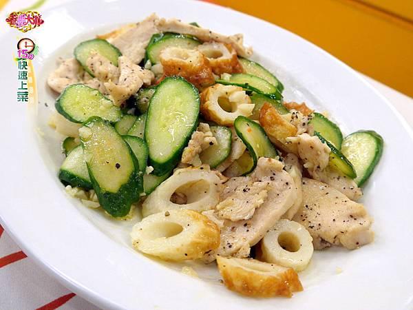 雞胸肉燴炒脆脆瓜 (2)-壓標