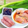 香菇香腸蒜炒雞-壓標