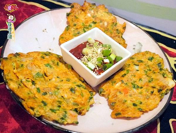 韓式馬鈴薯泡菜煎餅 (1)-壓標