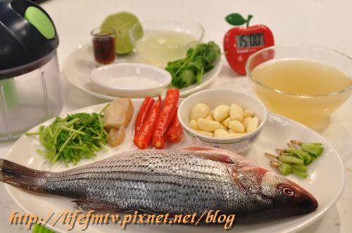 泰式檸檬魚的材料