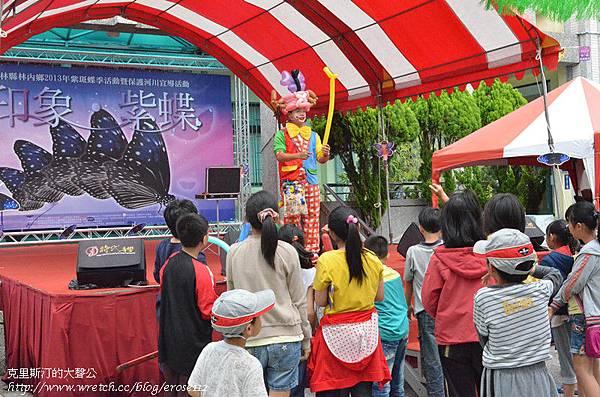紫斑蝶&台灣獼猴 124_副本