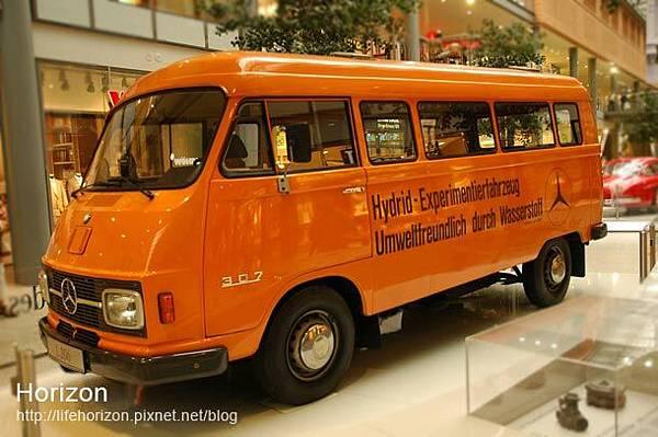 賓士博物館-展覽車