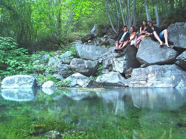 Skookumchuck Hot Springs