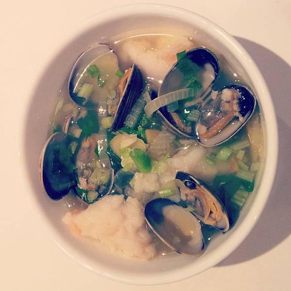 seafood rice soup