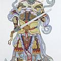 南方天王-增長天王