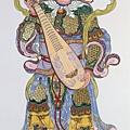 西方天王-廣目天王