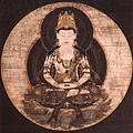 彌勒菩薩像(長源寺:絹本著色)