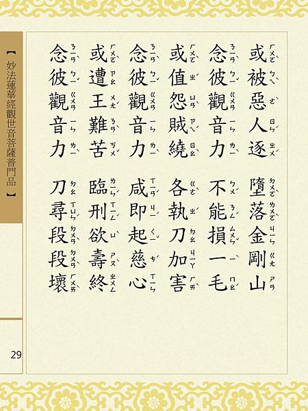 妙法蓮華經觀世音菩薩普門品 32.png