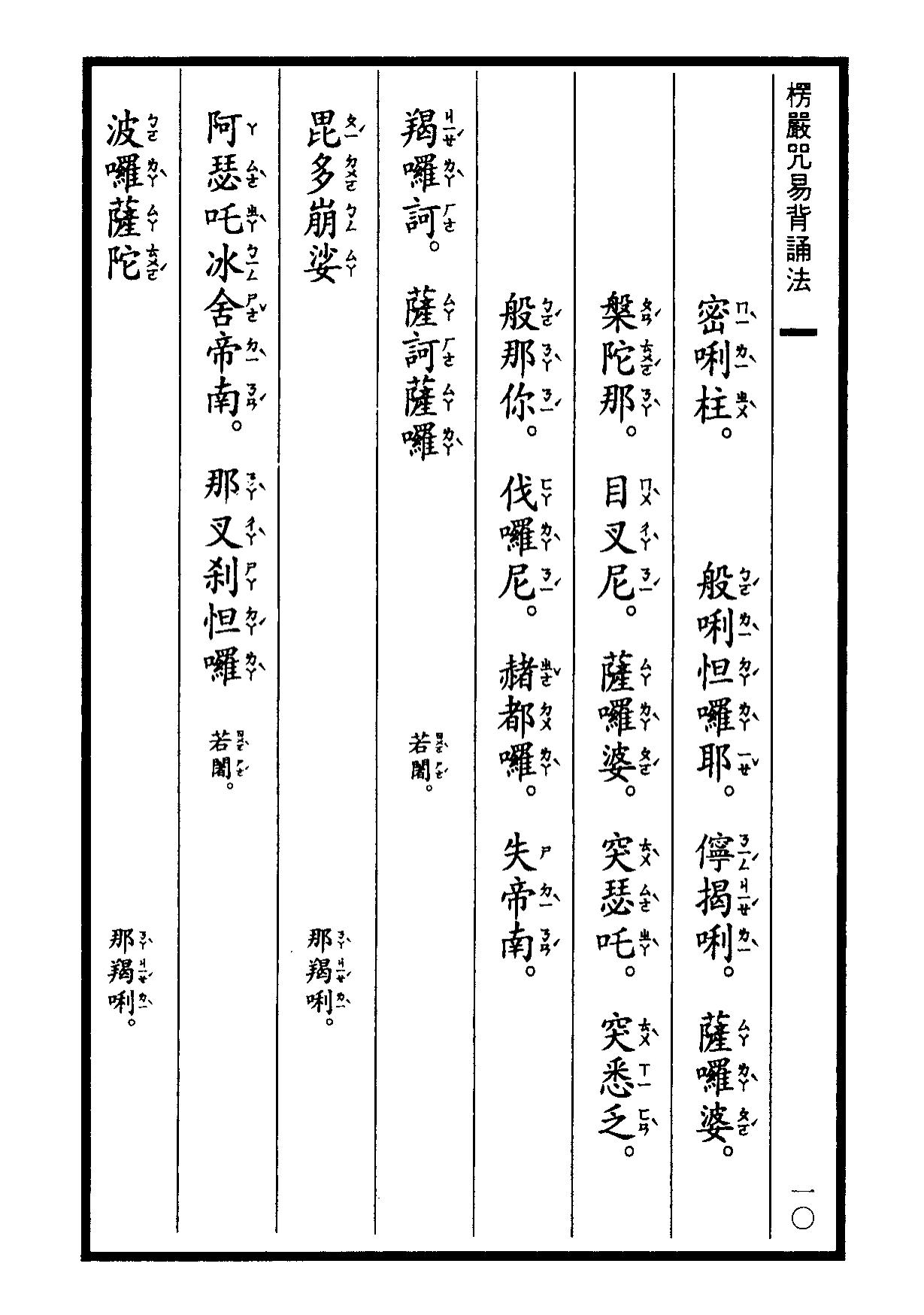 楞嚴咒-大悲咒-十小咒-易背本 16.png