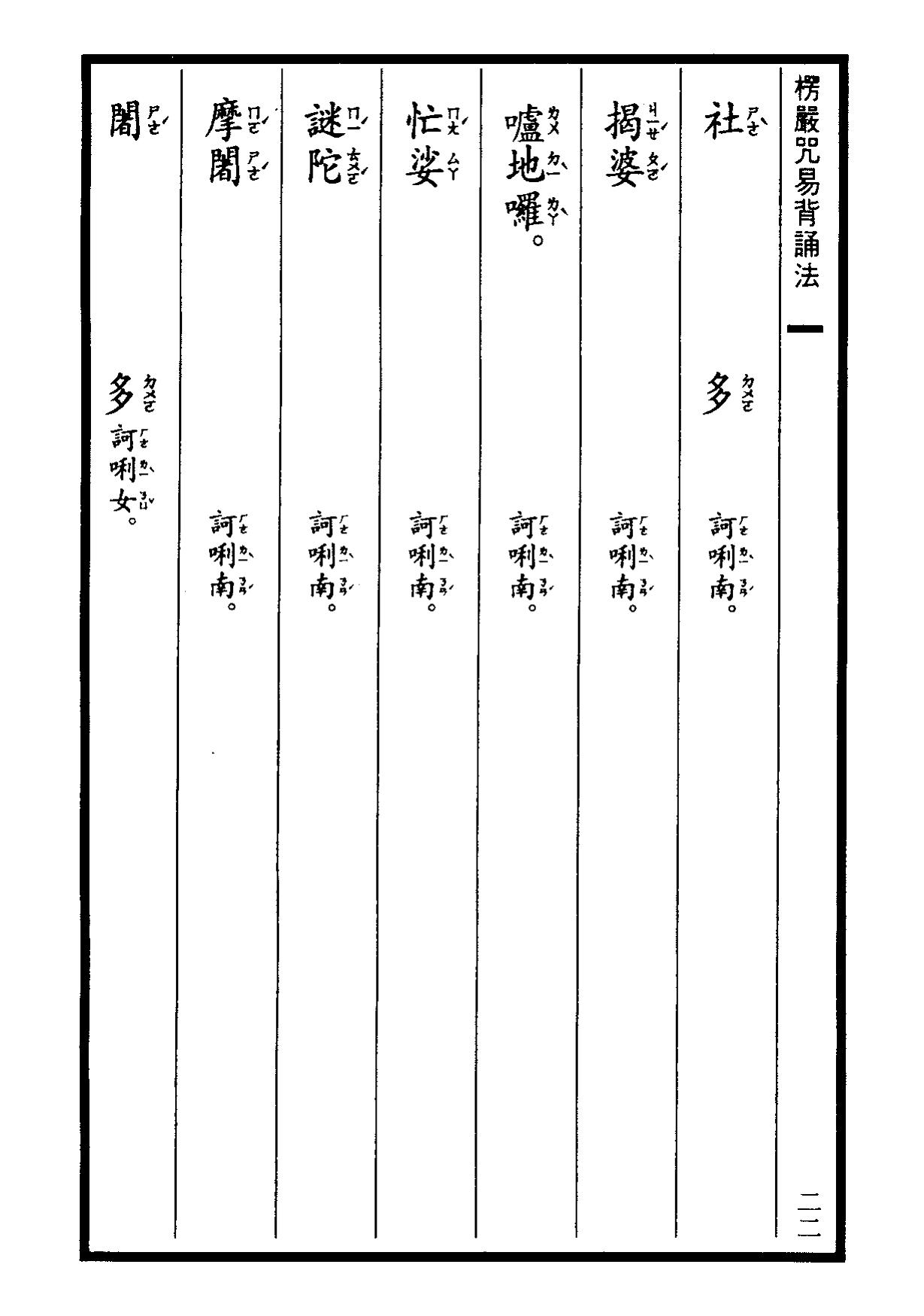 楞嚴咒-大悲咒-十小咒-易背本 28.png