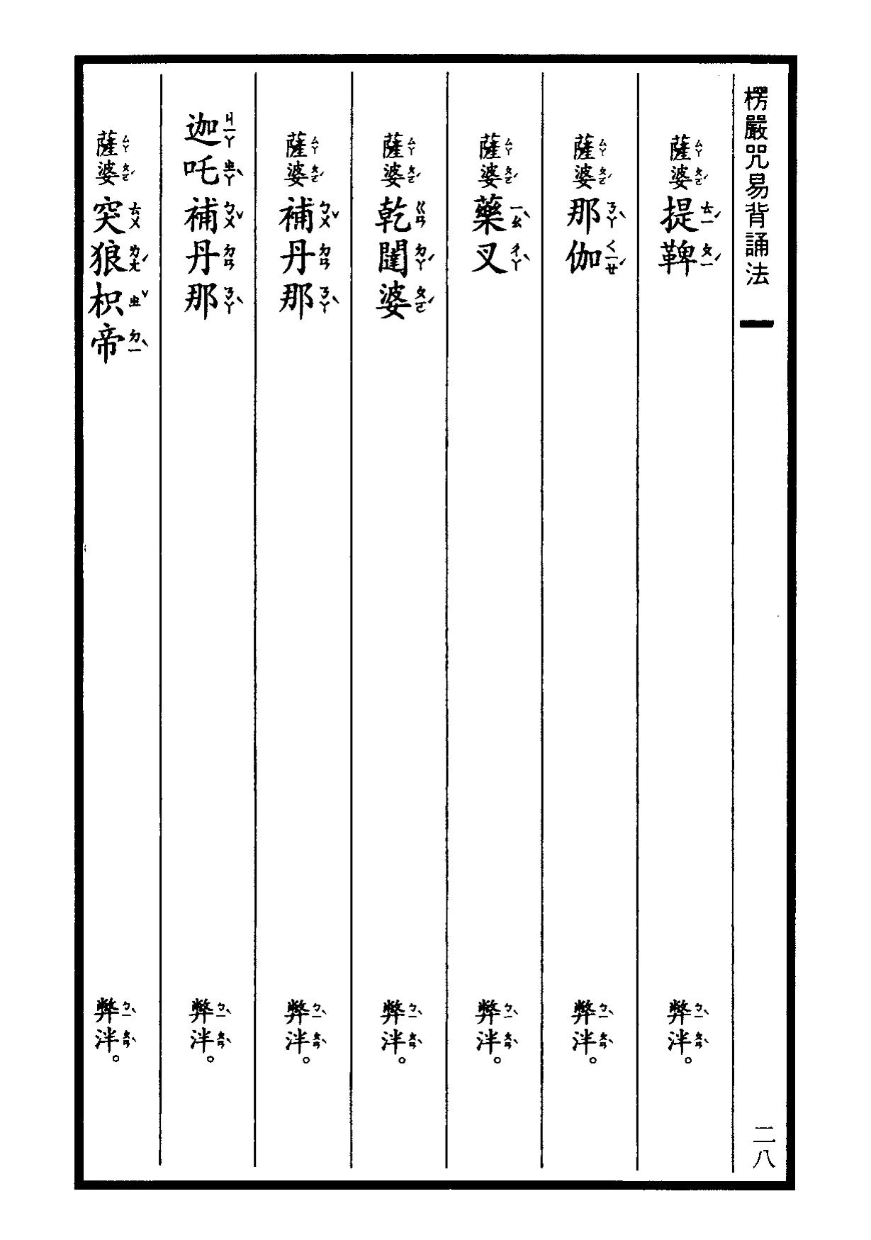 楞嚴咒-大悲咒-十小咒-易背本 34.png