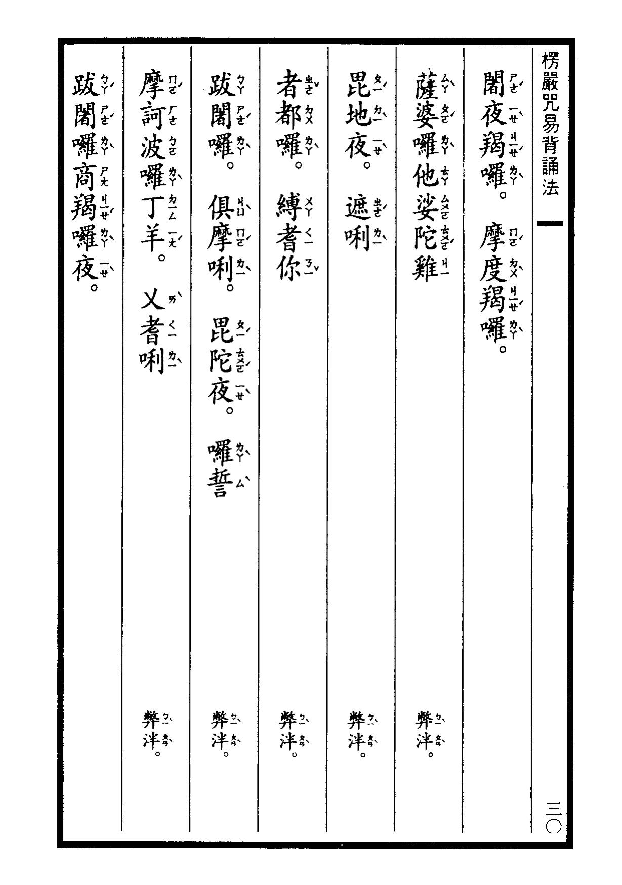 楞嚴咒-大悲咒-十小咒-易背本 36.png