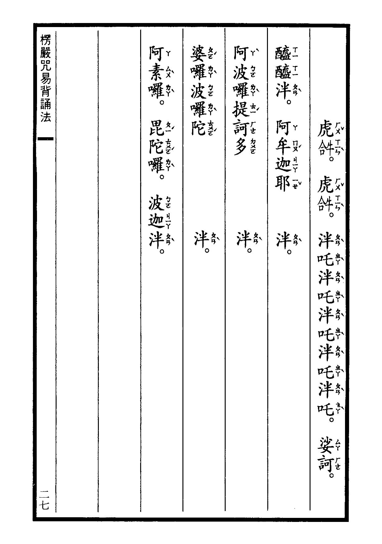 楞嚴咒-大悲咒-十小咒-易背本 33.png