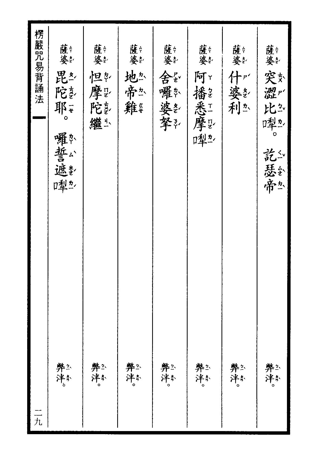 楞嚴咒-大悲咒-十小咒-易背本 35.png