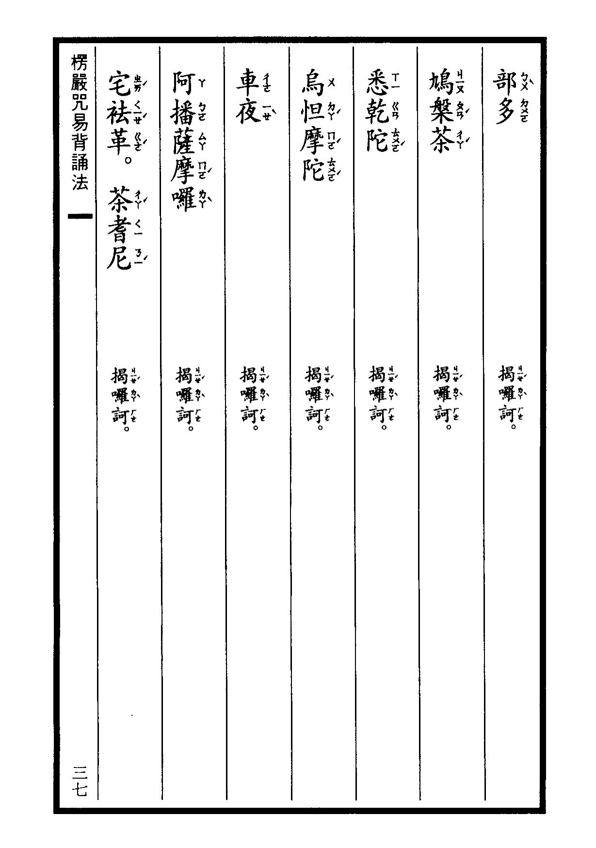 楞嚴咒-大悲咒-十小咒-易背本 43.png