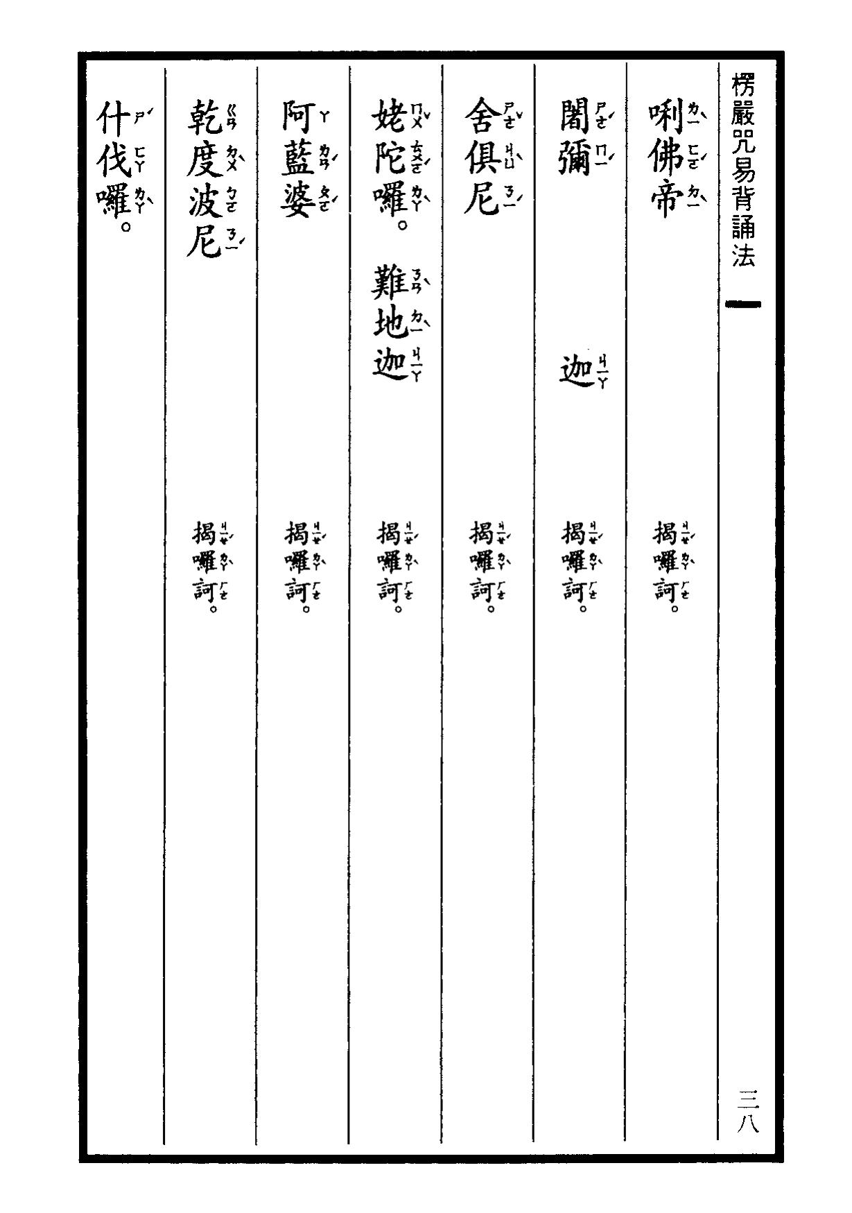 楞嚴咒-大悲咒-十小咒-易背本 44.png