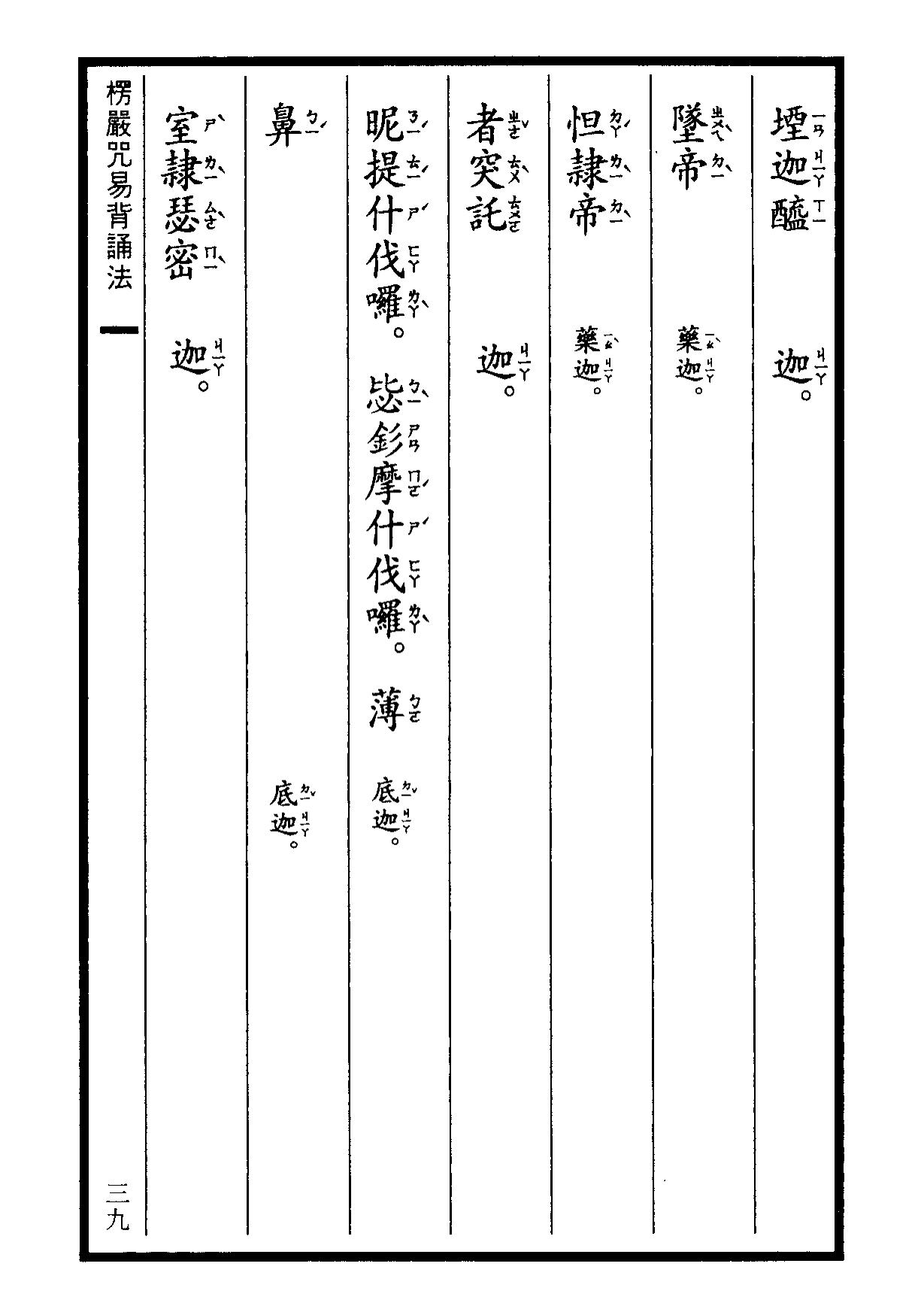 楞嚴咒-大悲咒-十小咒-易背本 45.png