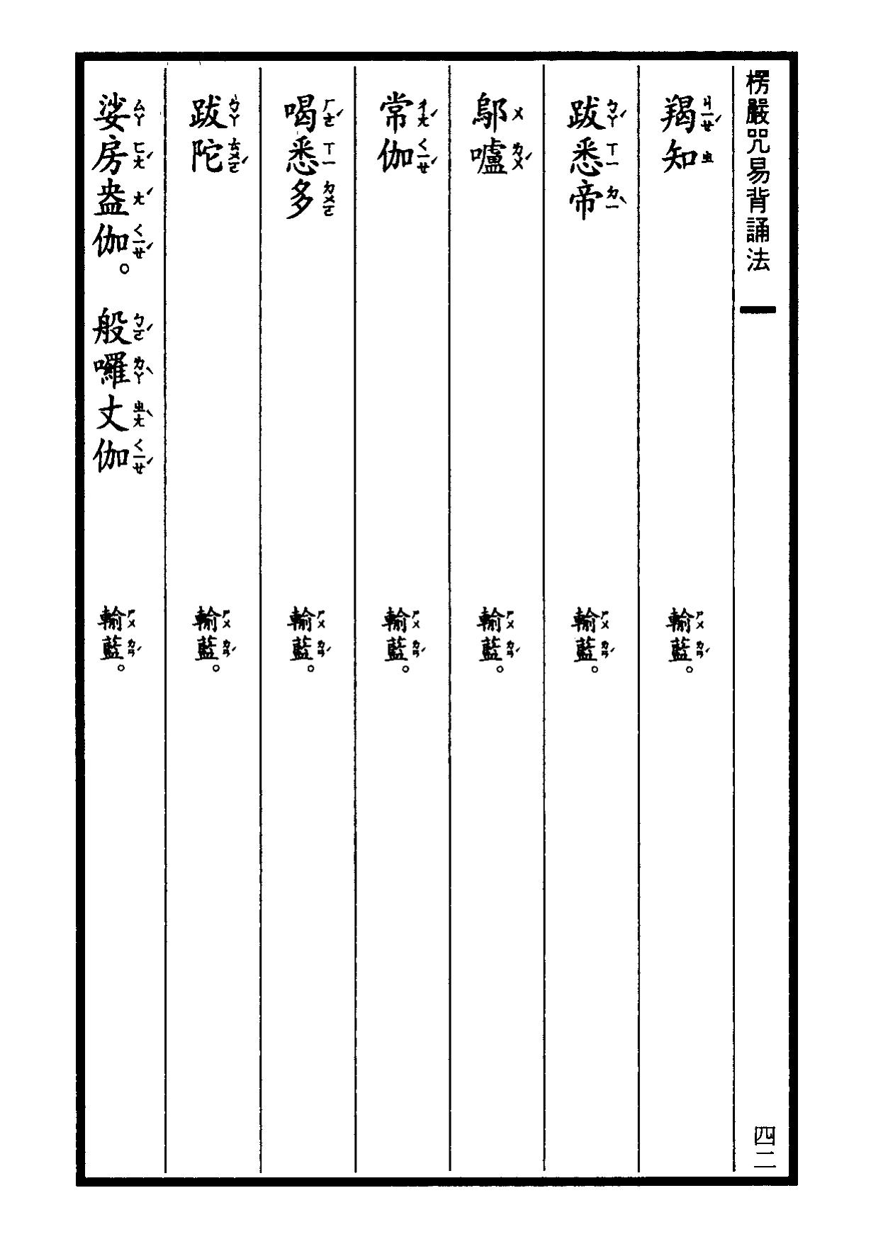 楞嚴咒-大悲咒-十小咒-易背本 48.png