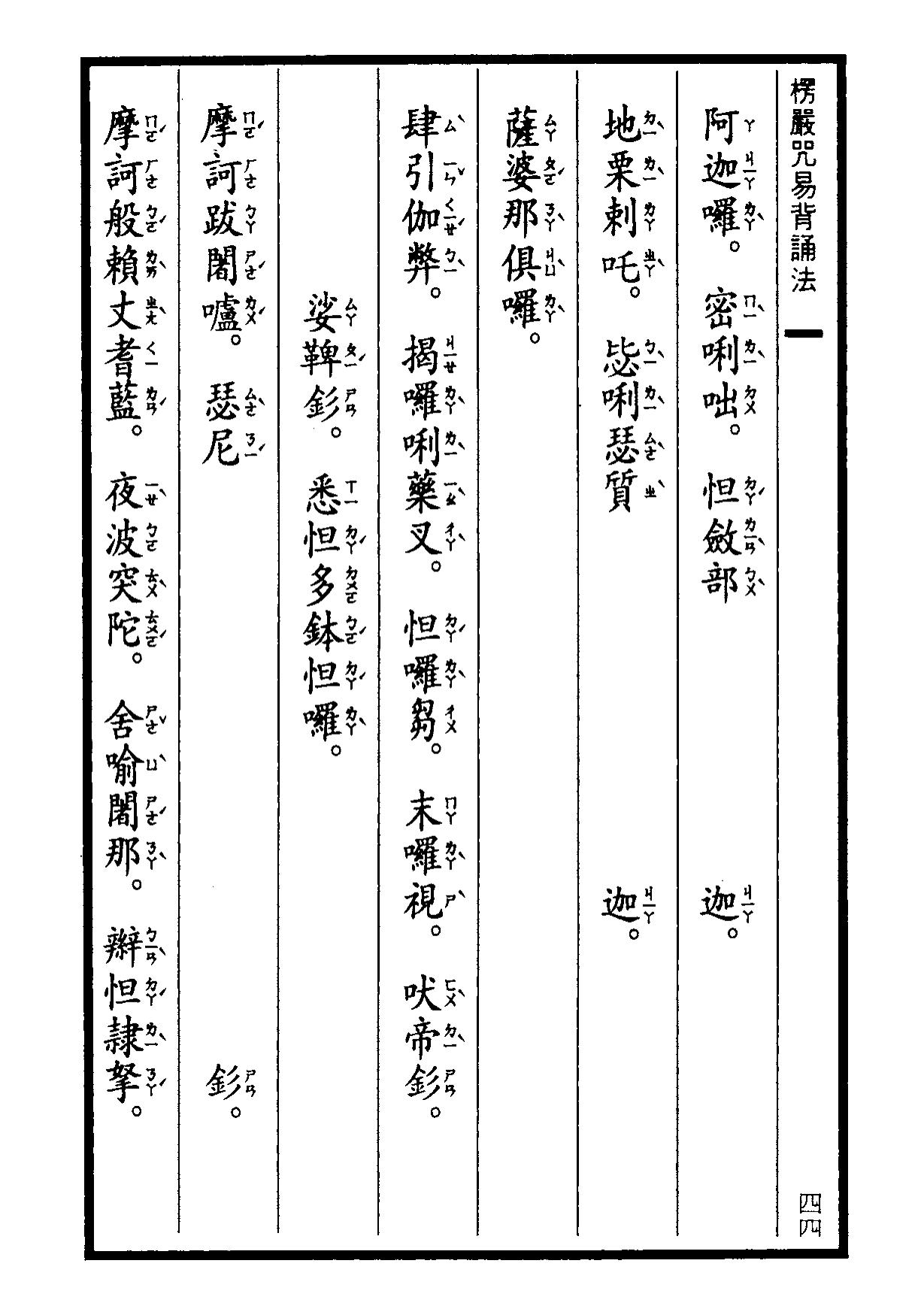 楞嚴咒-大悲咒-十小咒-易背本 50.png