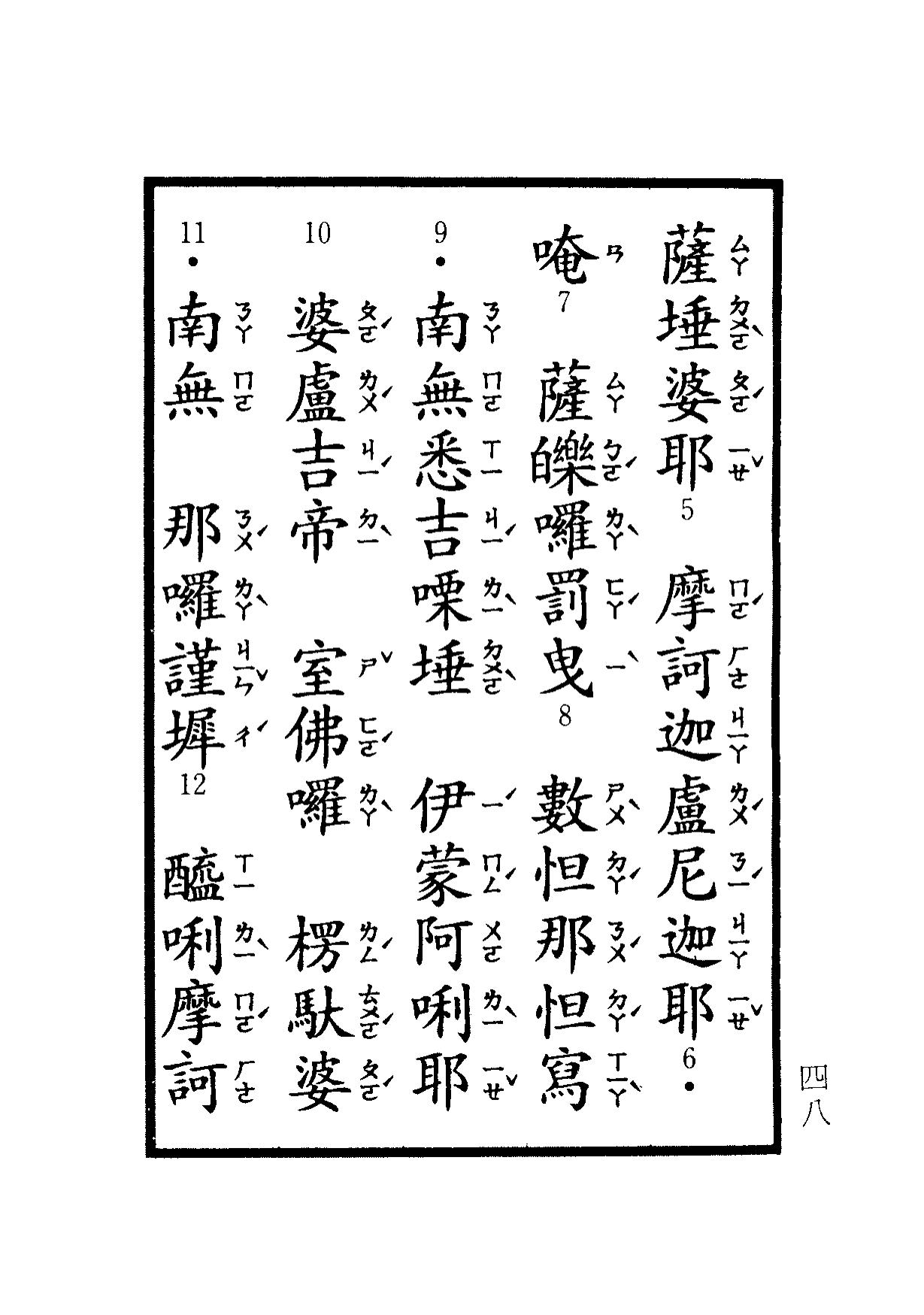 楞嚴咒-大悲咒-十小咒-易背本 54.png