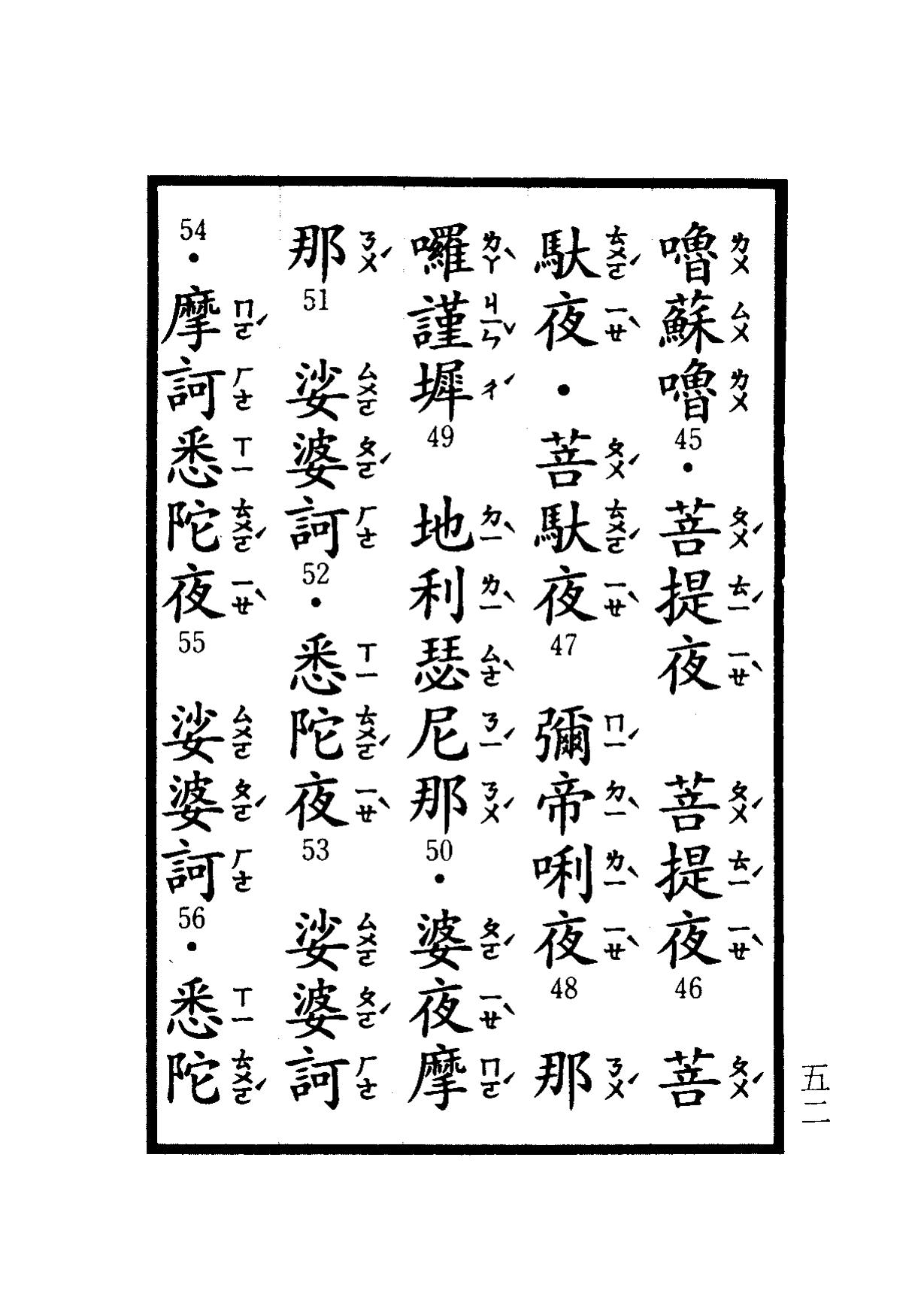 楞嚴咒-大悲咒-十小咒-易背本 58.png