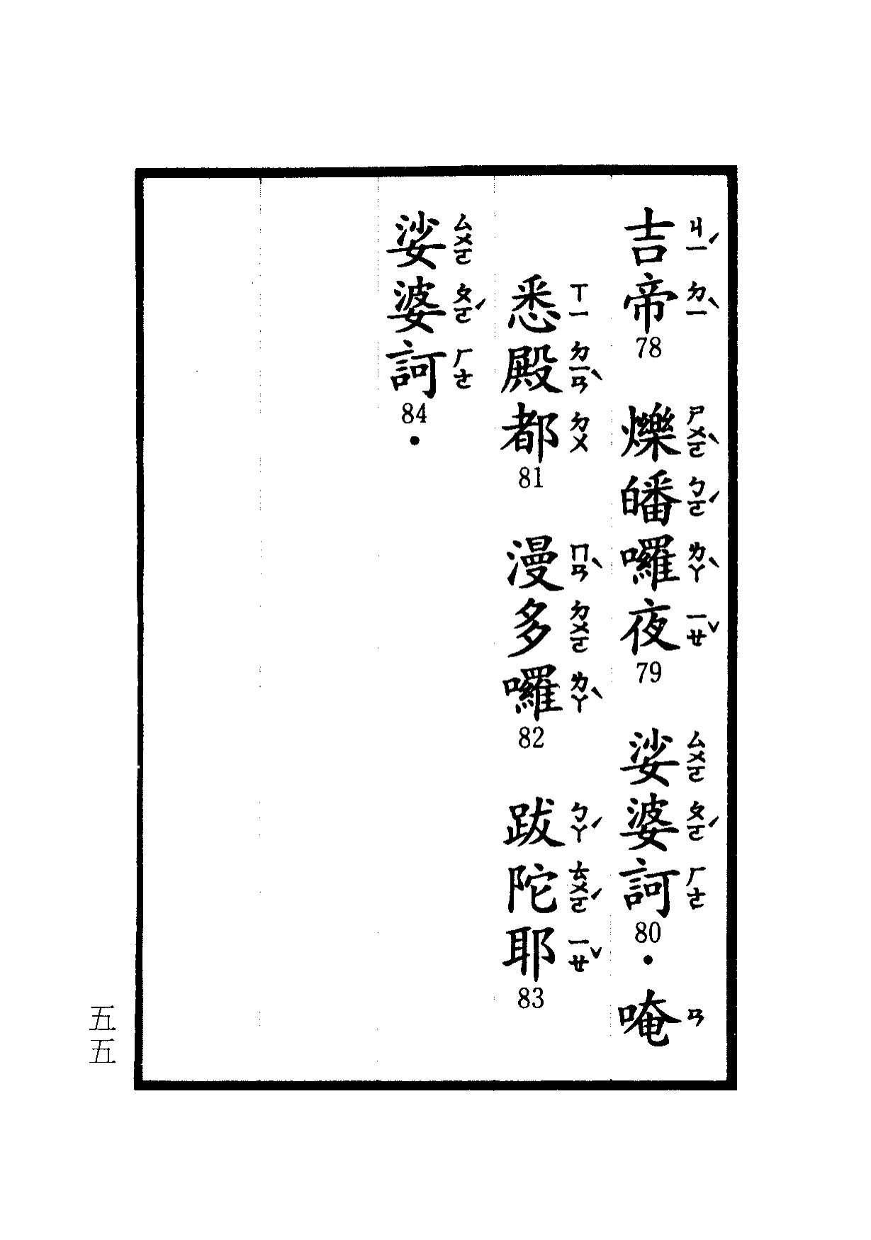 楞嚴咒-大悲咒-十小咒-易背本 61.png
