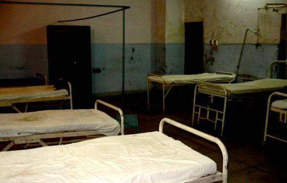 印度恆河旁的醫院