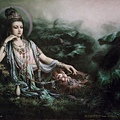 南無水月觀音菩薩 Liao Dynasty Guan Yin statue