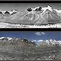 喜馬拉雅山脈正在融化的冰川