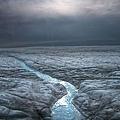 格陵蘭島的冰蓋
