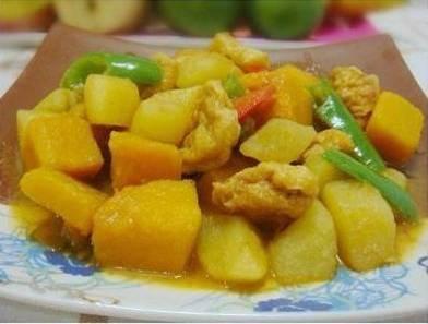 土豆燉番瓜