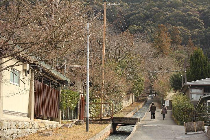 往南禪寺的巷弄風景