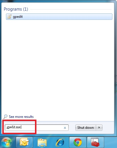 group policy edit