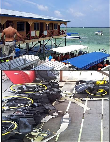 Mabul 島 潛水裝備