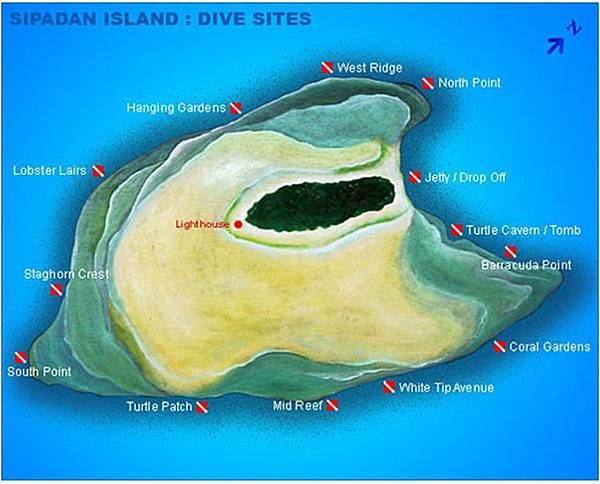 西巴丹地圖