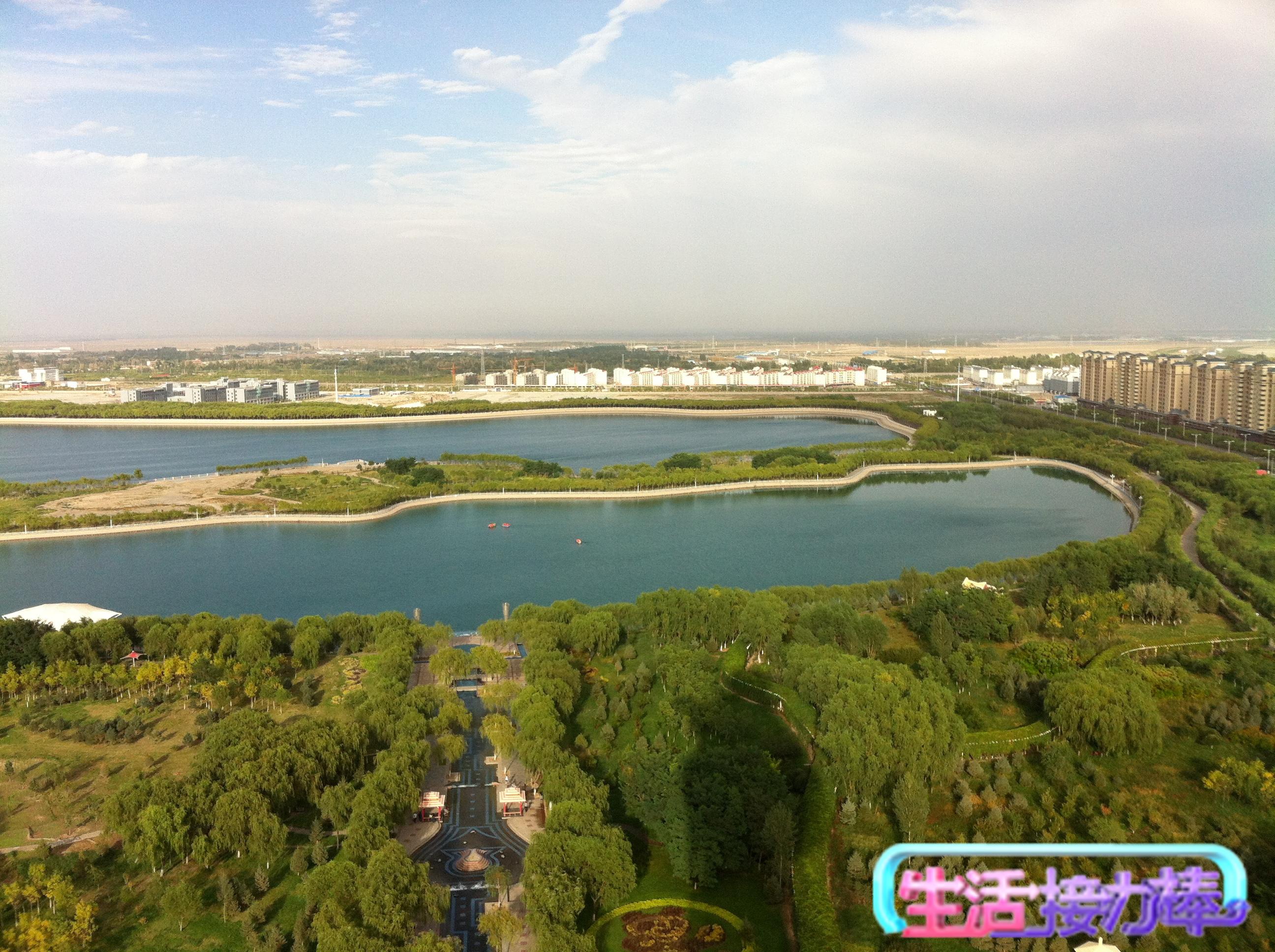 嘉峪关市大景